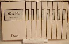 10 x Miss Dior Women's Eau de Parfum EDP Spray 0.03 oz 1 ml Sample Vial