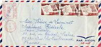 1975 Chile Air Mail Cover to Issy-les-Moulineaux, France