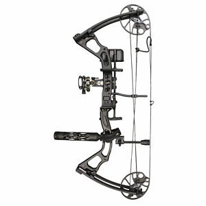 SAS Feud 25-70 Lbs Compound Bow Pro Package Fully Loaded Hunting Ready Combo