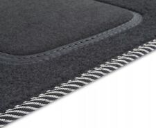 1988-1996 Alfombras tapices adecuado para bmw 5 e34 refrescos B - negro aguja fieltro 4tlg
