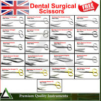 Surgical Operating Shears Dental Dissecting Nursing Medical Suturing Scissors