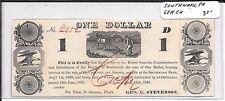 1837 Hard Times Banknote Southwark Pa Gem 3 Grades Nicer Than Any Other Note