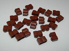 LEGO Lot of 4 Reddish Brown Panel 2 x 6 x 6 Log Wall From Sets 7019 3832