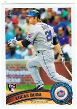 2011 Topps #129 Lucas Duda,rookie card,New York Mets,NM-MT