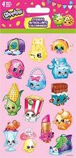 4 Sheets Shopkins Stickers Party Favors Teacher Supply Rewards