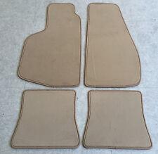 Autoteppich Fußmatten für VW Golf 1 Cabrio Creme 4tlg Velour Neu nicht original