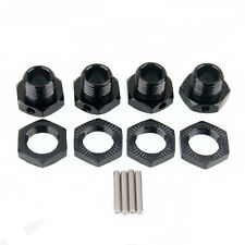 RC HSP 1:8 Car Buggy Truck Alum Wheel Hex 17mm Mount Hub Nuts Pin 4P 81011 Black