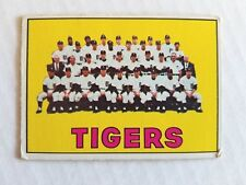 1967 TOPPS #378 Detroit Tigers / Ungraded - Appears Nice / 69 Baseball Season