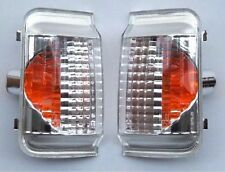 FIAT DUCATO CITROEN RELAY Jumper 06 On Wing Mirror Orange Indicator Lens, Pair