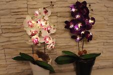 Led Orchidee,Kunstblume,Gesteck,Licht,Herbstdekoration,Geschenk