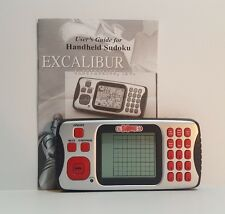 Excalibur ELECTRONIC SUDOKU Handheld Travel LCD GAME + Instruction FREE Shipping