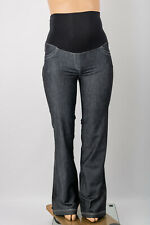 MATERNITY JEANS SIZE 14 16 OVERBUMP TROUSERS PANTS KICK FLARE JEANS