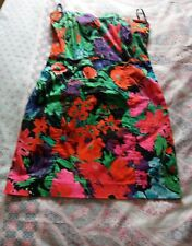 H & M Boned Bandeau dress..Size 12