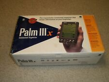 Palm Pilot Iiix - Tested & Working, Original Box with accessories, user manual