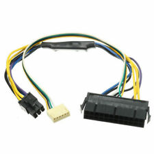 ATX 24 Pin To Motherboard 2-port 6 Pin Power Supply Cable For HP Z220 Z230 SFF