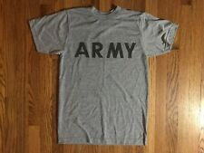 Army T Shirt Mens Extra Small Gray Preowned Official Army Shirt