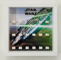 Display Frame Case for Lego Star Wars The Force Awakens Minifigures figures ep 7
