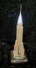 New ListingDanbury Mint Chrysler Building Nyc Power Cord Commemorative Replica Lights Up