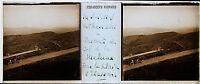Grecia Thessaly Stereo Verascope 45x107mm Placca Da Lente Positive, Ca
