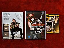 Zakk Wylde Set of 3 Promos<<>>Marshall<<>>Gibson<<>>OZZY