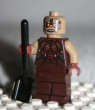 Lego MORDOR ORC (BALD) MINIFIGURE from Lord of the Rings Orc Forge (9476)