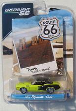 GREENLIGHT ROUTE 66 TEXAS 1971 PLYMOUTH CUDA 383