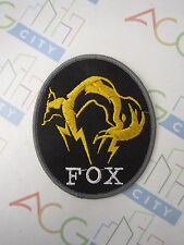 PS3 PS4 Metal Gear Solid Ground Zeroes V 5 FOX Cosplay Patch Badge Peace Walker