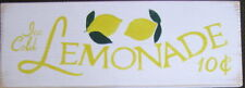 LEMONADE Sign Plaque Wood HP 4 Kid's Stand Home Decor