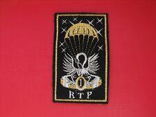 N°77 insigne militaire armée écusson patch badge Régimen Train Parachutistes RTP