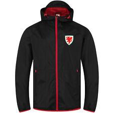 Wales Cymru FAW Official Gift Mens Peaked Hood Shower Jacket Windbreaker