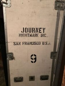 JOURNEY ROAD CASE 1970's OWNED BY THE BAND JOURNEY SEEN 1000's of CONCERTS