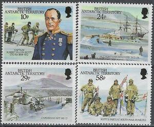 British Antarctic Territory Scott 137-40 MH LotBDP14612