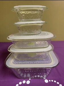 Princess House Green Fantasia Fresh Containers Set Of 10pc New In Box