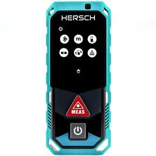 HERSCH Laser Entfernungsmesser LEM 100 mit Bluetooth und App, IP65, Ni-Mh Akkus