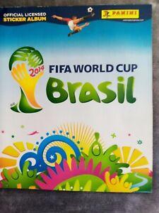 Panini World Cup sticker Album 2014 Brazil Empty