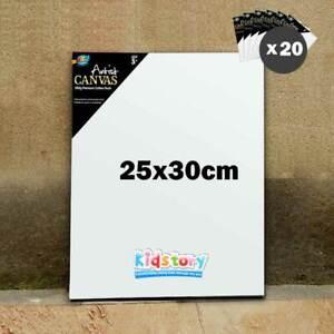20 x Artist Blank Canvas Panel Board 25cm x 30cm Thick Art Drawing Wholesale