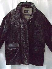 SWERT Damen Jacke-Winter-Übergangs Jacke Gr 40 Schwarz-grau BaumwollmischungOSEN