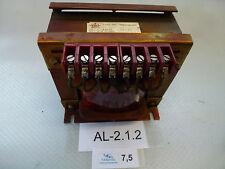 B&C TIPO TM Transformator VA 400, V1 0-380, V2 110-0-110/55-0-55, A2 0,91/1,82