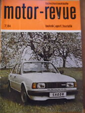 Tschechoslowakische MOTOR REVUE Nr. 7 - 1984 (1) Jawa Typ 897 Skoda Avia Motokov