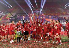 Liverpool FC Poster Premier League NEW Champions 2020, FREE P+P CHOOSE YOUR SIZE