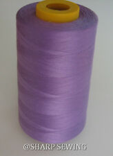 1 SPOOL CHOKE CHERRY #918 POLYESTER SERGER QUILTING THREAD T27 6000 YARDS