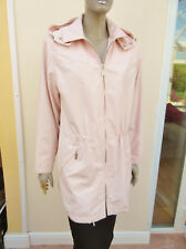 Basler - Pale Pink Hooded Medium Weight Coat - size 12/14/16