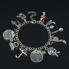 Mary Poppins Inspired Silver charm bracelet Spoonful of Sugar Birthday Gift UK