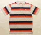 Mens Nike Golf Tour Performance Dri-Fit Striped Polo Shirt 8 Colour Variations