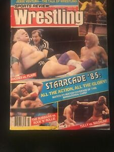 Sports Review Wrestling Magazine March 1986