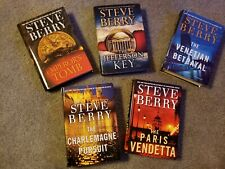 Lot of 5 Steve Berry Hardcover Books