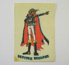 VECCHIO ADESIVO / Old Sticker CARTOON CAPITAN HARLOCK (cm 7 x 10)