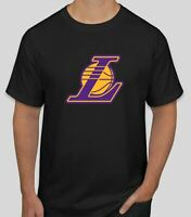 Shirt Lakers Angeles Los T Nba Lebron James S Men Tee Mens Basketball Black Cool