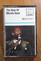 MARVIN GAYE THE BEST OF CASSETTE TAPE 1976 PAPER LABEL MOTOWN EMI UK