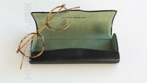 Oliver Peoples Bespoke MP-2 w/ M-4 spoon temples... size 44-22 w/ OP coffin Case